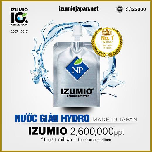 nước hydro izumio japan